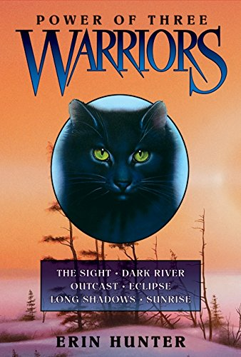warriors-power-of-three-sunrise-long-shadows-eclipse-outcast-dark-river-and-the-sight