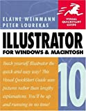 Illustrator 10 for Windows & Macintosh (020177321X) by Weinmann, Elaine