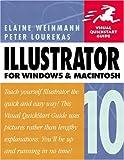 Illustrator 10 for Windows & Macintosh (020177321X) by Weinmann, Elaine