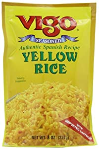 Vigo Yellow Rice, 8-Ounce Bags (Pack of 12)