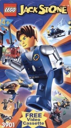Lego Jack Stone (VHS Video)