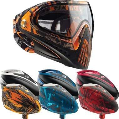 Dye Rotor Loader And I4 Goggle Sale - Orange Tiger I4 - White Rotor