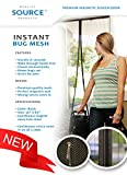 """Magnetic Screen Door FITS FULL 36"""" DOORS, 39 X 83"""", Velcro Sewn in Around ENTIRE Frame, No Gaps, Superior to Magic Mesh Screen Doors As Seen On TV, Bug Off Magna, Mosquito Fly Curtain Closures, Let Fresh Air in and Keep Bugs Out, DIY Install Christmas Holiday Gift, RV, Outdoors, New Year Breeze"""
