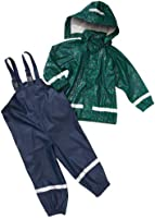 Playshoes Unisex - Baby Kombinationen & Mehrteiler Regenanzug Ornament 408694