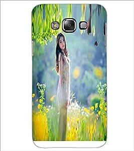PRINTSWAG BEAUTIFUL GIRL Designer Back Cover Case for SAMSUNG GALAXY E7