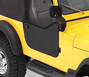 BesTop 53028-01 Jeep CJ Half Doors - CJ - In Black