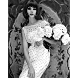 Jean Shrimpton wearing a dress, photo John French (Print On Demand)