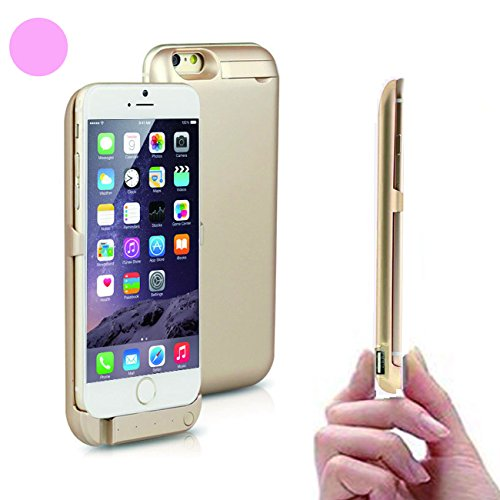 iphone 7 6s 6 モバイルバッテリー 内蔵 充電 ケース ( 大容...