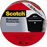 Scotch 414-LONG/DC Extreme Mounting Tape, 1-Inch X 400-Inch, 1-Pack