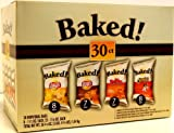 Baked Lays Potato Chips 30 Bag Variety Case Pack