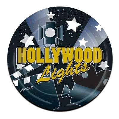 Hollywood Lights Plates   (8/Pkg) - 1