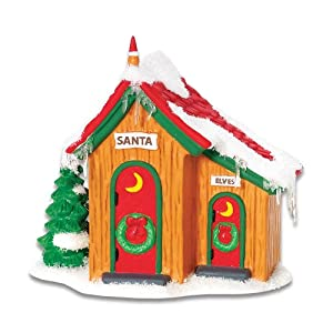 #!Cheap Department 56 North Pole Up North Outhouse