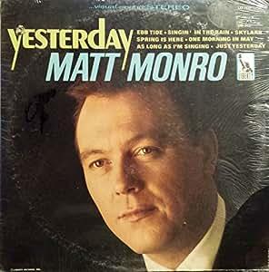 Matt Monro Matt Monro Yesterday Original Lp Album
