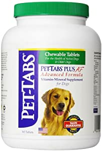 Pet-Tabs Plus AF (Advanced Formula), 365 ct. (Made in USA)