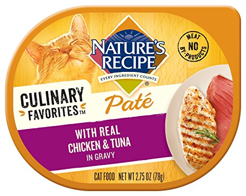 Nature's Recipe Culinary Favorites Paté With Real Chicken & Tuna Recipe In Gravy