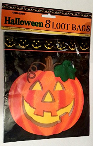 Unique Halloween 8 Loot Bags