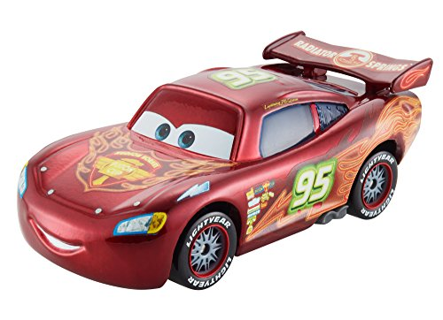 Mattel CBG12 - Disney Cars Neon, Saetta Mc Queen