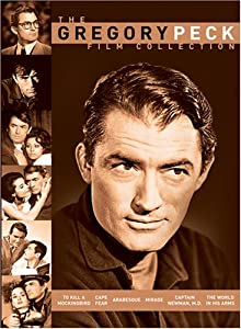 The Gregory Peck Film Collection To Kill A Mockingbird Cape Fear Arabesque Mirage Captain man Md The World In His Arms by Universal Studios
