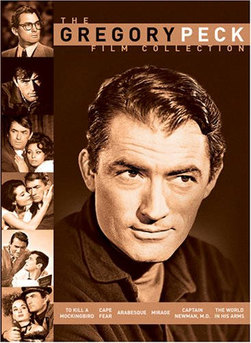 Cover art for  The Gregory Peck Film Collection (To Kill a Mockingbird / Cape Fear / Arabesque / Mirage / Captain Newman, M.D. / The World in His Arms)