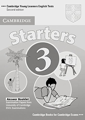 cambridge-young-learners-english-tests-starters-3-answer-booklet