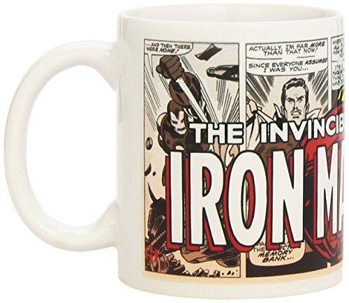 Marvel Comics Tazza Retro Iron Man
