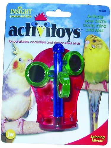 Cheap JW Pet Company Activitoys Spinning Mirrors Bird Toy (B000CMKHSG)