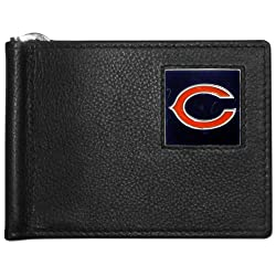 NFL Chicago Bears Leather Bill Clip Wallet