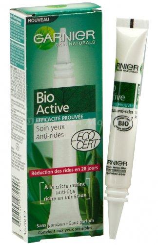Garnier Bio Aktiv Straffende Augenpflege Anti-Falten 15ml (E10)