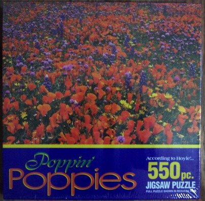 Poppin Poppies Jigsaw Puzzle