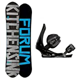 Forum The Kitchen Sink Snowboard and Binding Package by Forum Novelties