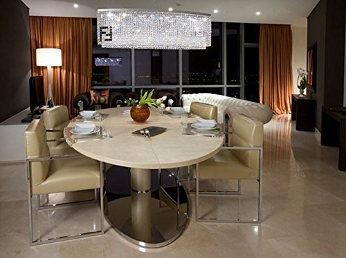 island chandelier lighting. siljoy modern crystal chandelier dining room rectangular chandeliers lighting island pendant lamp h16