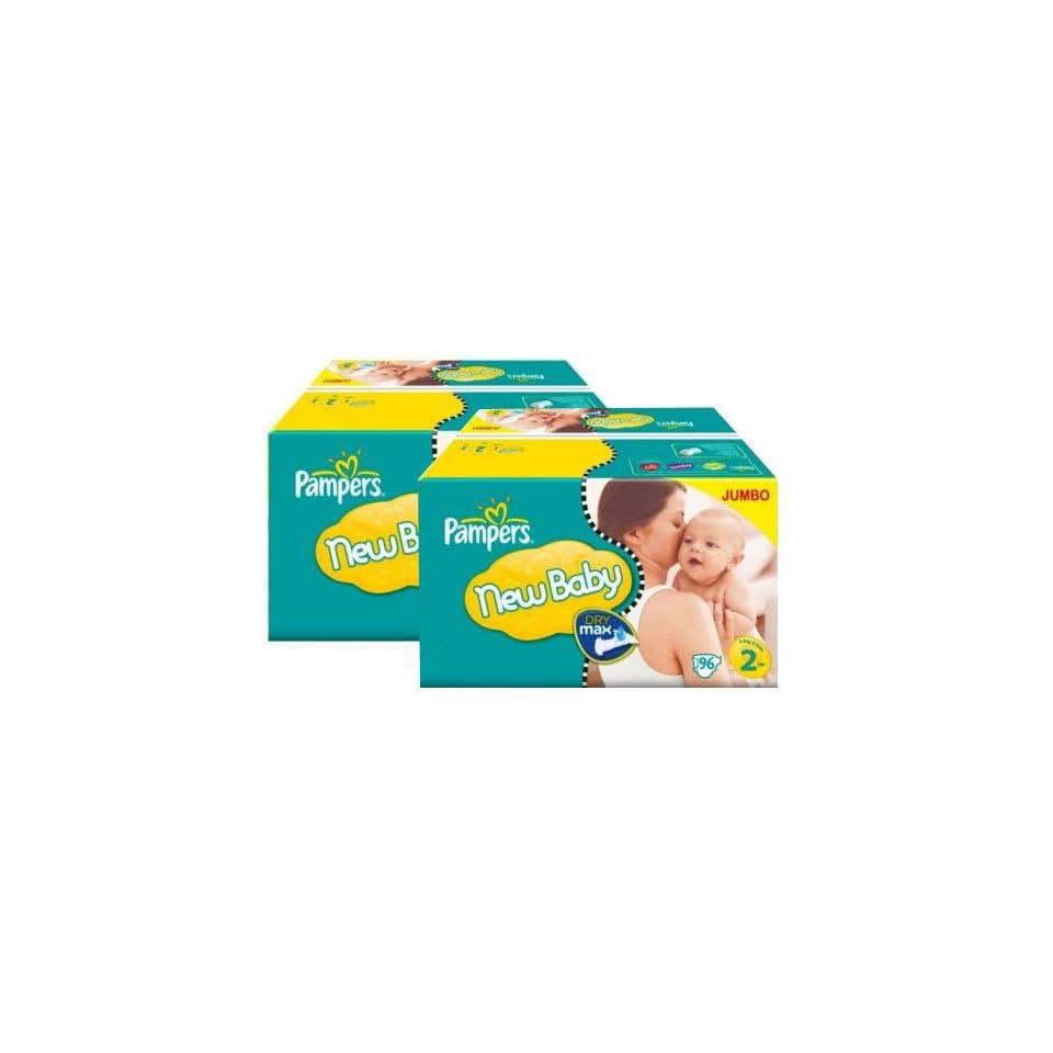 176 Stück PAMPERS Jumbo Pack, New Baby   New Born, mini, Gr 2, 3 6 kg