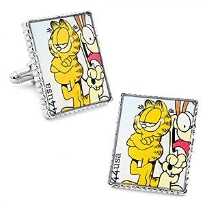 Garfield Comic Strip Stamp Cufflinks
