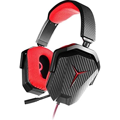 Lenovo GXD0L03745 Y Gaming Stereo Headphone, Black