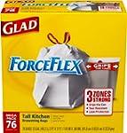 Glad ForceFlex Tall Kitchen Drawstrin...