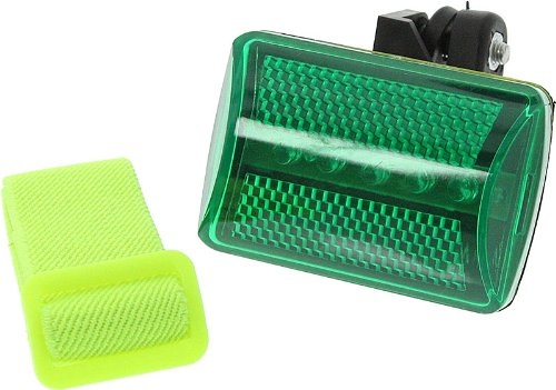 Green Safety Flasher With 7 Function