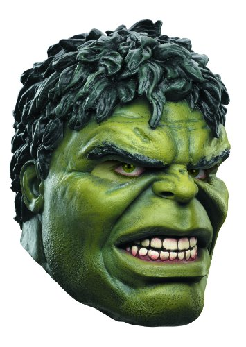Disguise Avengers Hulk Adult Latex Deluxe Costume Mask