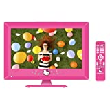 """Hello Kitty 15"""" LED Television with Remote Control"""