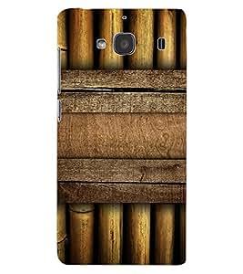 ColourCraft Bamboos Pattern Design Back Case Cover for XIAOMI REDMI 2S