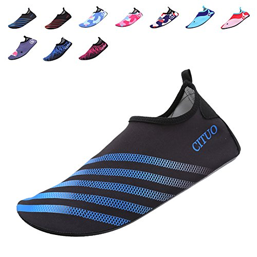 CIOR Mutifunctional Barefoot Shoes Men Women and Kids Quick-Dry Water Shoes Lightweight Aqua Socks For Beach Pool Surf Yoga Exercise,CT1605,T.Blue,38.39 (Water Shoes Girls compare prices)