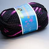 hatnut gaudy 086 neonpink 50g Wolle