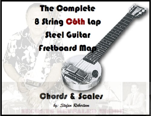 The Complete 8 String C6th Lap Steel Guitar Fretboard Map Chords & Scales (Know Your Fretboard)