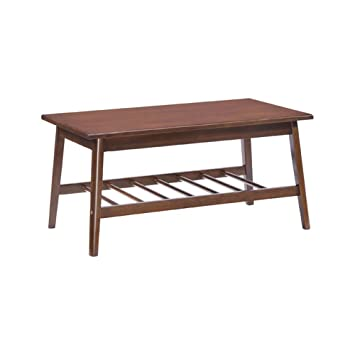 Zuo Home Furniture Aventura Coffee Table Walnut