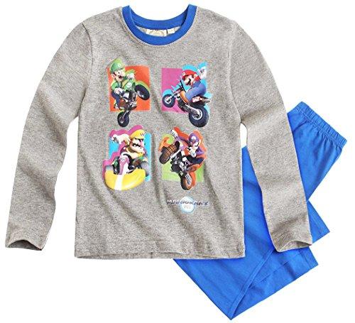 Mario Bros -  Pigiama due pezzi  - ragazzo Blu blu