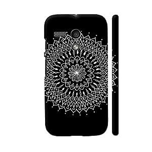 Colorpur Reverse Ink 2 Designer Mobile Phone Case Back Cover For Motorola Moto G1 | Artist: Uday Bhaskar