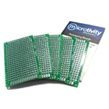 microtivity IM414 Double-sided Prototyping Board (4x6cm, Pack of 5)