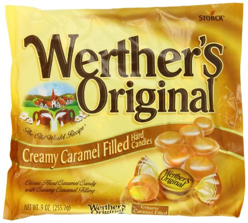 Werther's Caramel Creamy Filled Candy, Original, 9 Ounce