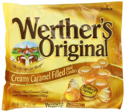 Werther's Caramel Creamy Filled Candy, Original, 9 Ounce
