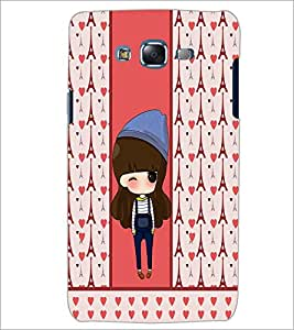PrintDhaba Cute Doll D-5874 Back Case Cover for SAMSUNG GALAXY ON 7 (Multi-Coloured)
