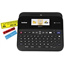 브라더 P-touch PTD600 라벨기 Brother Printer PTD600 PC Connectible Label Maker with Color Display